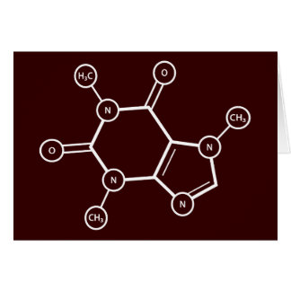 C8H10N4O2 molecular structure Note Card