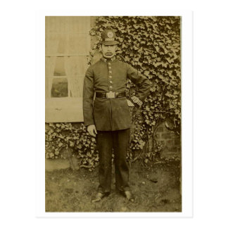 C 123 Liverpool Police 1907 Postcard