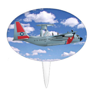 C-130 Coast Guard Anniversary Cake Toppers