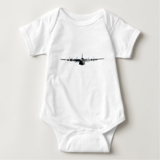 C-130 Hercules - Grunge Baby Bodysuit