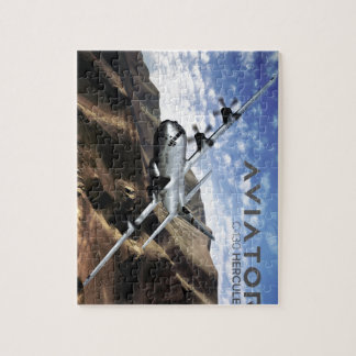 C-130 HERCULES Military Airplane Jigsaw Puzzle
