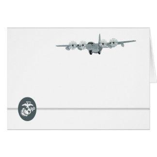 C-130 USMC Aviation Notecard