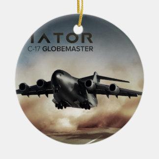 C-17 Globemaster Cargo Airplane Christmas Ornament
