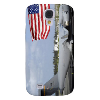 C-17 Globemaster III sits on the flightline Galaxy S4 Case