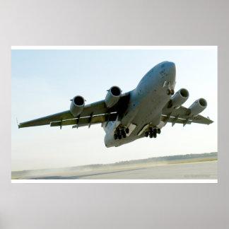 C-17 Globemaster Takes Off Poster