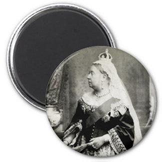 C. 1880 Queen Victoria of England Fridge Magnets