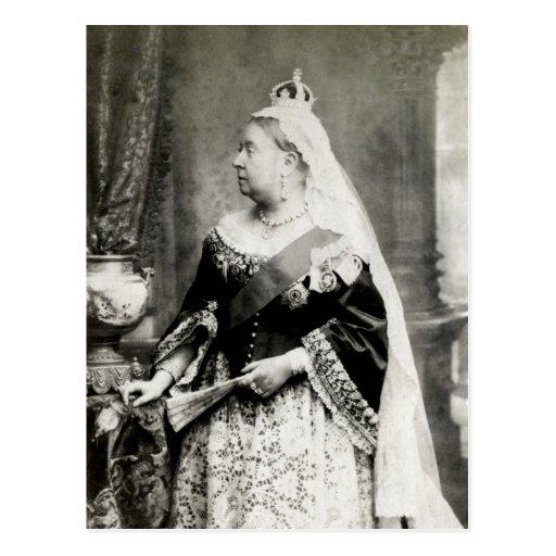 C. 1880 Queen Victoria of England Post Card