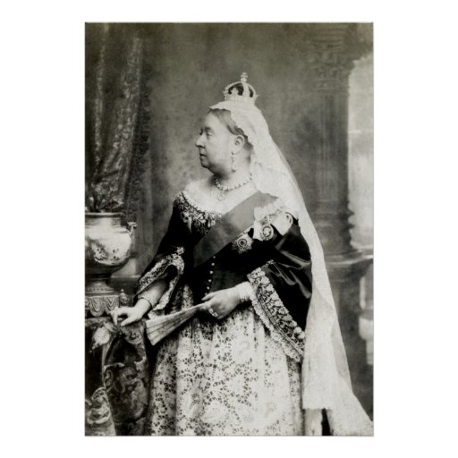 C. 1890 Queen Victoria of England Posters
