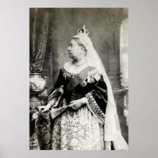 C 1890 Queen Victoria of England Posters