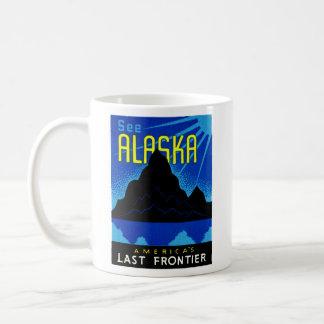 C. 1935 See Alaska! Basic White Mug