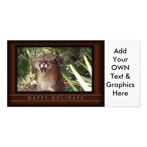 c-2011-cougar-013 customized photo card
