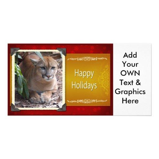 c-2011-cougar-015 photo greeting card