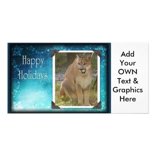 c-2011-cougar-024 customized photo card