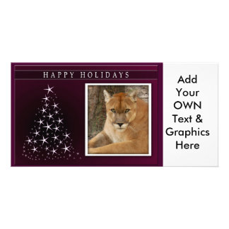 c-2011-cougar-034 personalized photo card