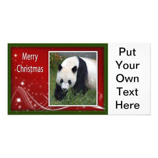 c-2011-panda-0044 photo card template