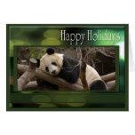 c-2011-panda-0081 greeting card