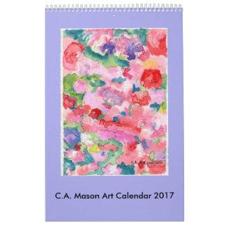 C.A. Mason Fine Art 2017 Calendar