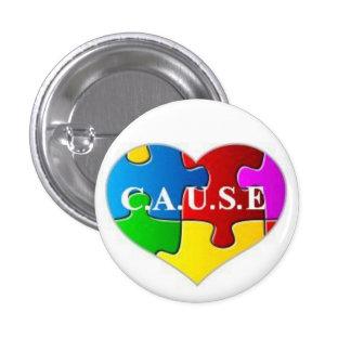 C A U S E Logo Button