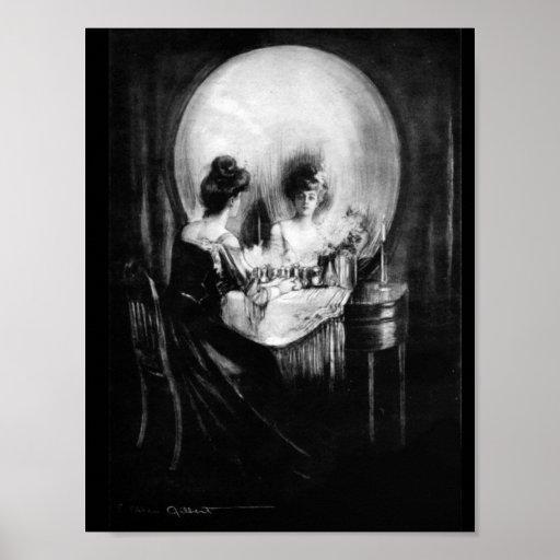 C. Allan Gilbert, All is Vanity Poster