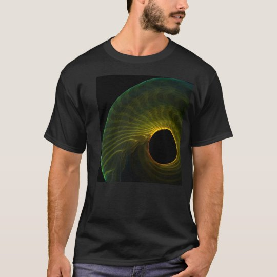 C black hole fractal T-Shirt
