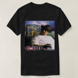 C-Bo - One Life 2 Live - Black T-Shirt