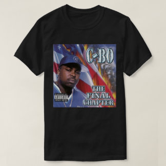 C-Bo - The Final Chapter - Black T-Shirt