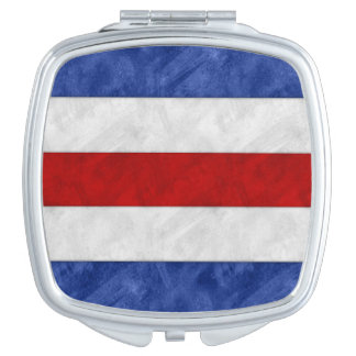 C Charlie Watercolor Nautical Signal Maritime Flag Vanity Mirrors