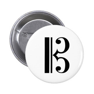 C-Clef Button