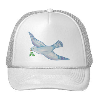 C - Dove of Peace Mesh Hats