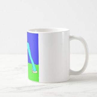 C DownwardDog.jpg Basic White Mug