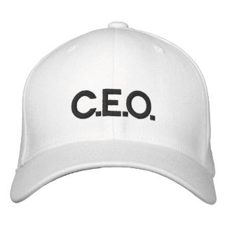 C.E.O. HAT EMBROIDERED HATS