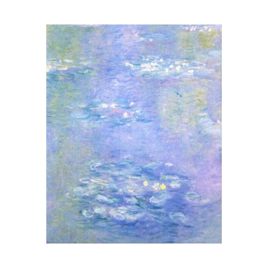 C.E.s Water Lillies by Claude Monet Canvas Print