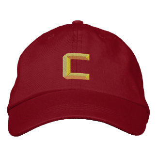 C EMBROIDERED HATS
