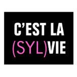 C'est la (Syl)Vie - C'est la Vie Post Cards