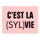 C'est la (Syl)Vie - C'est la Vie Postcards