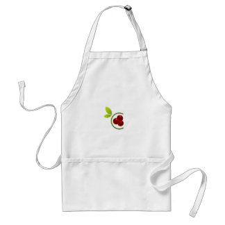 C for cherry adult apron