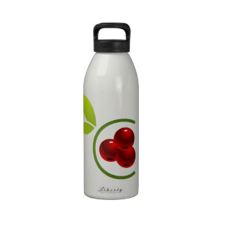 C for cherry reusable water bottles