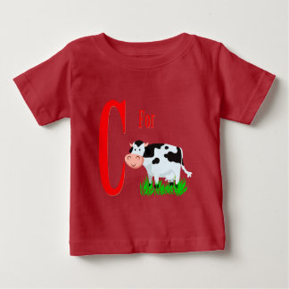 C For Cow Baby T-Shirt
