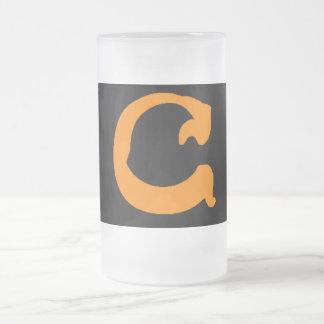 C Frosty Mug (center style, orange)
