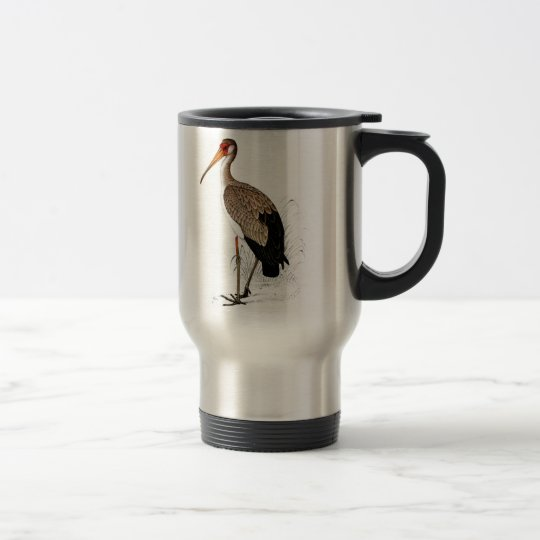 C G Finch-Davies Yellow Billed Stork Travel Mug