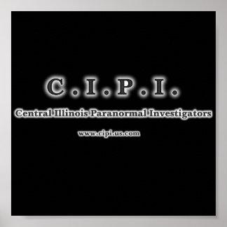 C I P I Logo Poster