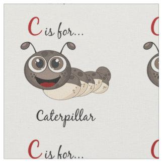 C Is For Caterpillar Fabric
