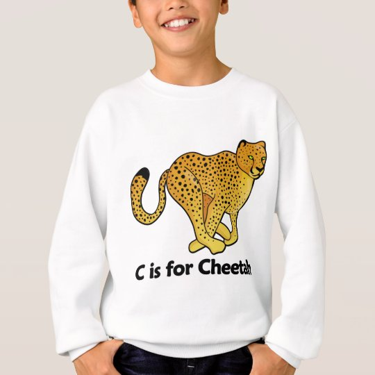C is for Cheetah Sweatshirt
