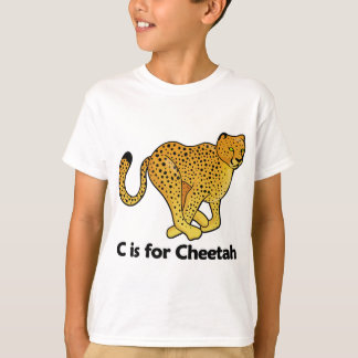 C is for Cheetah T-Shirt