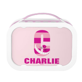 C is for Cheshire Cat | Add Your Name Lunch Box