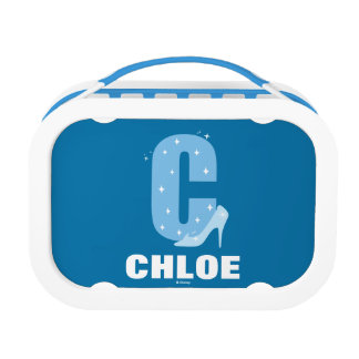 C is for Cinderella | Add Your Name Lunch Box