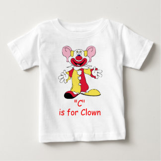 C is for Clown Toddler Shirt