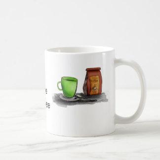 C is for Coffee Basic White Mug