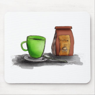 C is for Coffee Mouse Pad