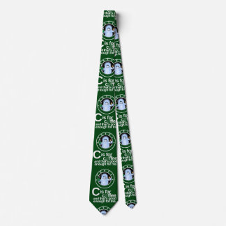 C is for Coffee  Tie (Green)